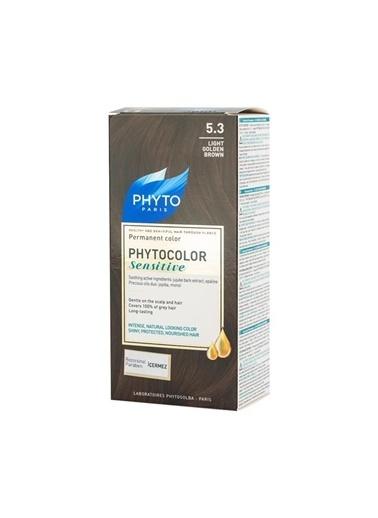 PHYTO  color Sensitive 5.3 Light Golden Brown Siyah